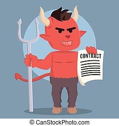 悪魔, 保有物の 契約