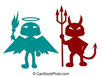 悪魔, 天使
