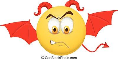 悪魔, 特徴, 黄色の額面