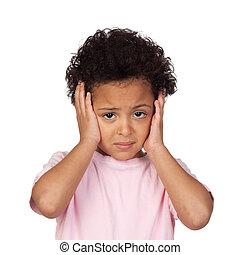 悲しい, 頭痛, 子供, ラテン語
