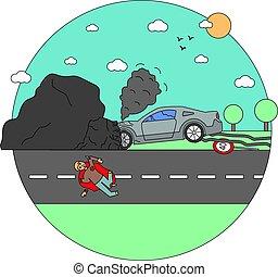 悲劇, 車 衝突, 衝突, 災害, 事故
