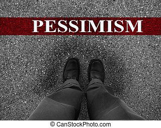 悲觀主義, 事務