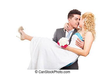 情事, 結婚式の カップル