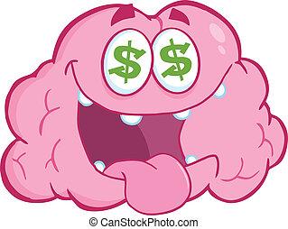 情事, 脳, お金