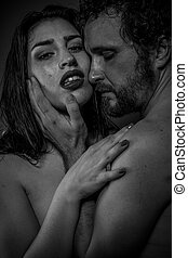 情人, 夫婦, 赤裸, 其他, 每一個, 親吻, 擁抱, 撫愛, 關係
