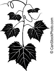 情報のルート, ブドウ園, 木, パターン, スクロール, デザイン, 景色, 花, フルーツ, 健康, シルエット, ...