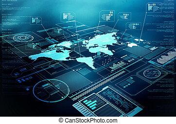 情報技術, ディスプレイ, インターネット