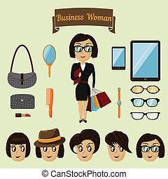情報通, 女, 特徴, ビジネス, パック