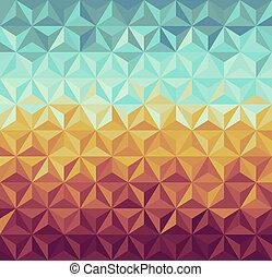 情報通, pattern., レトロ, 幾何学的
