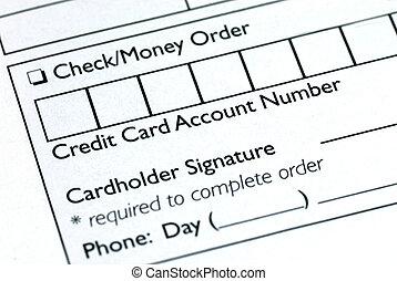 情報, 形態, クレジット, 順序, カード, いっぱいになりなさい