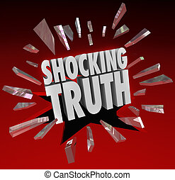 情報, 真実, 言葉, 驚き, ニュース, ショッキングである