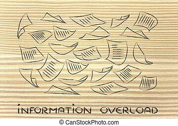 情報, 知識, ビジネス, 積み過ぎ, 組織化する, データ