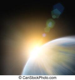 惑星地球, ∥で∥, a, 超大作, sunset.