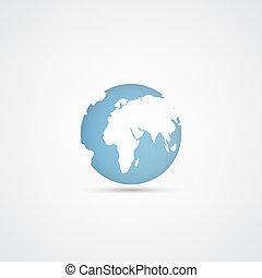 惑星地球, ベクトル, アイコン