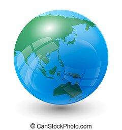 惑星, 地図