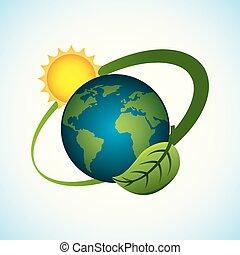惑星, 太陽, エネルギー, 環境, きれいにしなさい, 世界