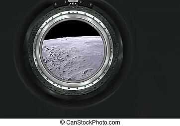 惑星, 景色。, 火星, 月, 外国人