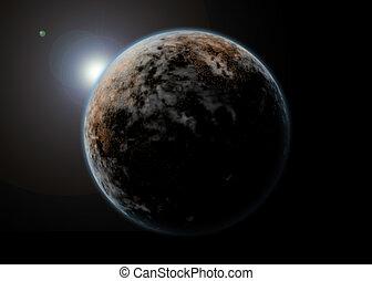 惑星, 風景, スペース