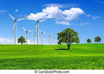 惑星, ecology-green