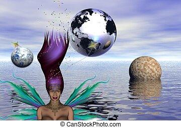 想像の世界