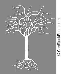 想像力が豊かである, 古い木, 数字