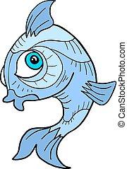 想像力が豊かである, fish