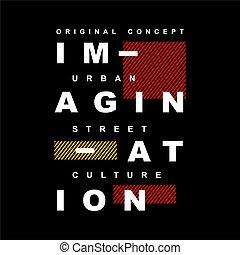 想像力, 活版印刷, -