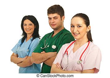 愉快, 醫院, 工人