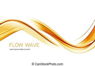 意匠の色, 抽象的, 要素, 金, 波, 透明