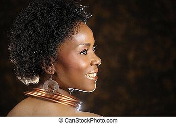 意味深長, アフリカ系アメリカ人の女性, ∥で∥, 劇的, 照明