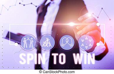 意味, ゲーム, ギャンブル, 回転, 幸運, カジノ, 宝くじ, 運, テキスト, risk., 概念, あなたの, 試み, win., 手書き