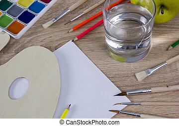 意志, 変化, 道具, 芸術家