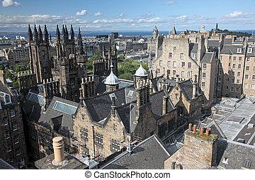 愛丁堡, 在, 蘇格蘭, 英國
