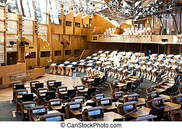 愛丁堡, 議會