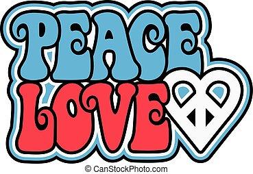 愛国心が強い, 平和, 愛