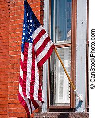 愛国心, アメリカの旗