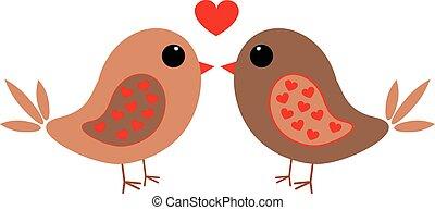 愛鳥, 由于, 心