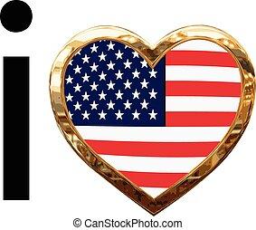 愛, アメリカ