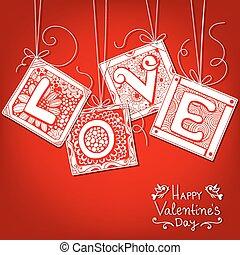 愛, カード