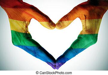 愛, ゲイである