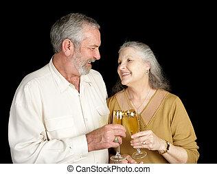 愛, シャンペン, 笑い, &