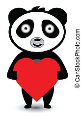 愛, パンダ