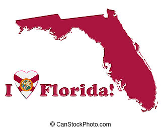 愛, フロリダ, 印