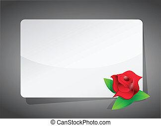 愛, ブランク, デザイン, イラスト, 印