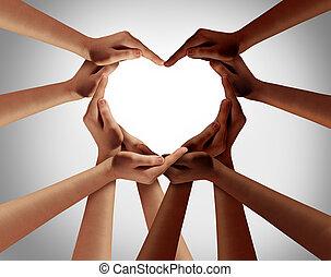 愛, 人種的