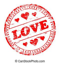 愛, 切手