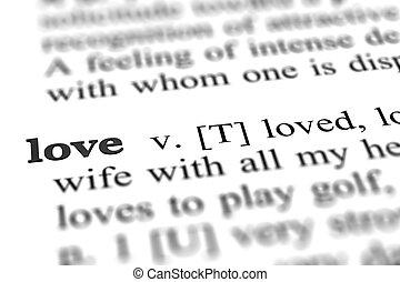 愛, 単語