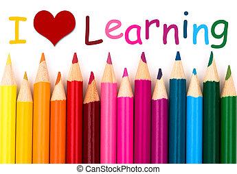 愛, 學習