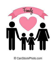 愛, 家族
