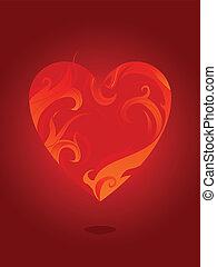 愛, 燃焼